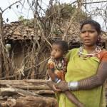 Woman with her Child Madhya Pradesh